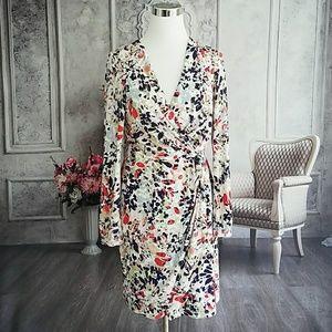 Jessica Simpson Women's Dress White Multi Size 10